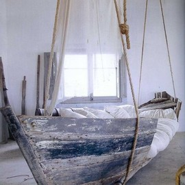 Bed from a boat.