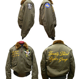 BUZZ RICKSON'S - B-10 23rd Fighter Group 14th Air Force 「如虎添翼」 ROUGH WEAR CLOTHING CO. 1943MODEL