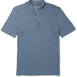Hartford - Slim-Fit Linen Polo Shirt