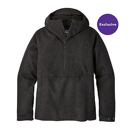 patagonia - M's Recycled Wool Pullover, Forge Grey (FGE)
