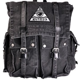 Disturbia Clothing - All-Seeing バックパック