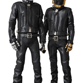 MEDICOM TOY - RAH DAFT PUNK HUMAN AFTER ALL Ver.2.0 THOMAS BANGALTER / GUY-MANUEL de HOMEN-CHRISTO