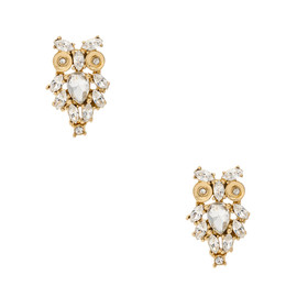 kate spade NEW YORK - GIVE A HOOT STUDS