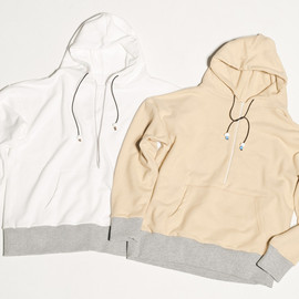 CYDERHOUSE - HALF ZIP UP PARKA