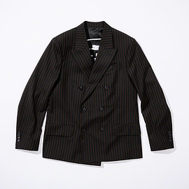 Supreme, Jean Paul Gaultier - Pinstripe Double Breasted Blazer