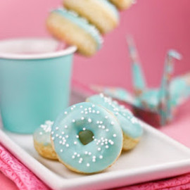 Tiffany blue Donuts
