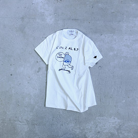 HOLLYWOOD RANCH MARKET, Mark Gonzales - T-Shirt: DOWNHILL