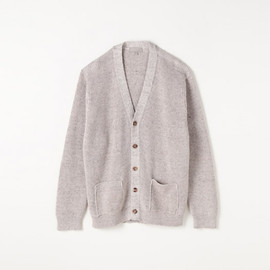 MARGARET HOWELL - LINEN CASHMERE TWIST CARDIGAN