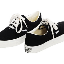 Undercover - Undercover Cotton Lace-Up Shoes