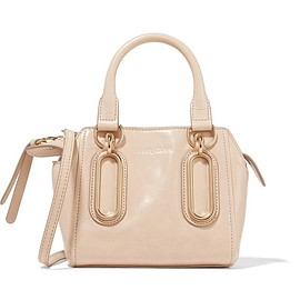 See by Chloé - Paige mini glossed-leather shoulder bag