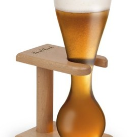 Final Touch - Quarter Yard of Ale Beer Glass with Stand
