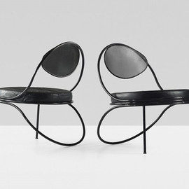 Mathieu Matégot - Copacabana lounge chair