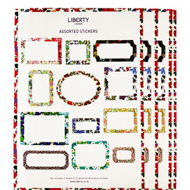 Liberty London - Assorted Liberty Print Sticker Labels