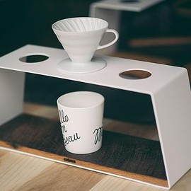 JM&SONS - Coffee Pour Over Stand Triple