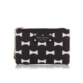 KATE SPADE - BOW SHOPPE SMALL FLAT POUCH