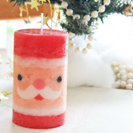 naooo3 house - Santa Claus candle