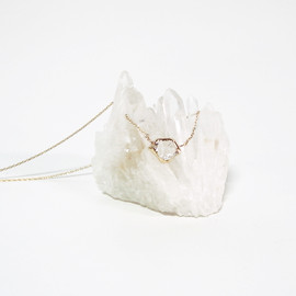 in her - K10 Herkimer diamond Wrapping necklaces