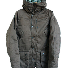 REVERSIBLE DECK JACKET