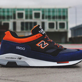 New Balance - New Balance M1500RBO/Made In England - Black Blue Orange