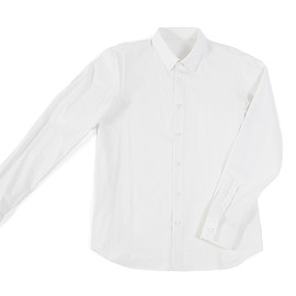 Outlier - Freecotton Button-Up (Flat, White)