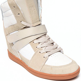 DC Shoes - Womens Mirage Mid Wedge Sneakers