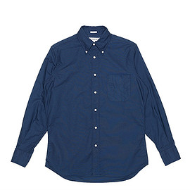 INDIVIDUALIZED SHIRTS - BD Shirts Classic Fit Cambridge Oxford-Navy