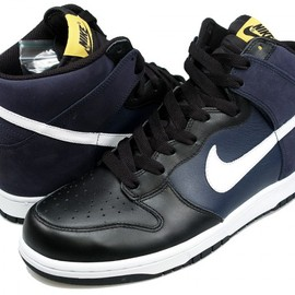 Nike - Dunk High  Obsidian/White/Black