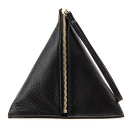 B印 YOSHIDA, PORTER - LOUVRE SHRINK LEATHER triangle bag