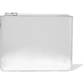 Kara - Mirrored-leather pouch