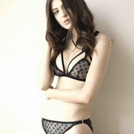 LONELY by Lonely Hearts - CUT OUT TRIANGLE SOFTCUP BRA & BRIEF