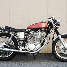 YAMAHA - SR400 Cafe Racer from GOOD LUCK!!