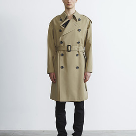 THE RERACS - R2017 LOOSE TRENCH COAT (BEIGE)