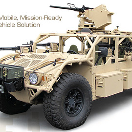 THE FLYER ModularMobile ,Mission-Ready TacticalVehicleSolution