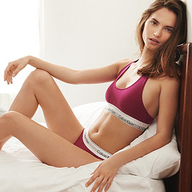 Lace and stretch-satin hipster briefs