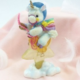 ENESCO - ユニコーン フィギュア enesco starlight starbright unicorn collection