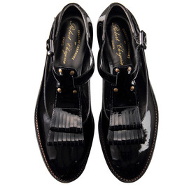 OPENING CEREMONY - PATENT T-STRAP SHOES