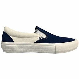 Vans - Vans Slip On Pro Shoes - Dress Blues/Marshmallow