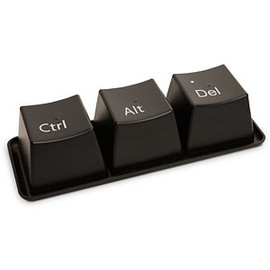 ThinkGeek - Ctrl-Alt-Delete Cup Set