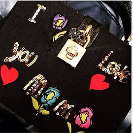 DOLCE&GABBANA - I ♡ you mama bag