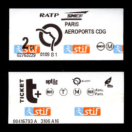Paris Metro - Tickets
