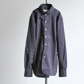 HAVERSACK - Round Collar Dot Shirts