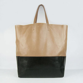 CELINE - Shopping Bag 1868 Apricot / Black Color