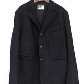 Engineered Garments - Truman Jacket,20oz Melton Navy