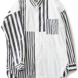 CYDERHOUSE - Crazy Stripe Shirt (black)