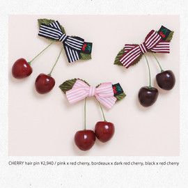 KATIE - CHERRY HAIR PIN