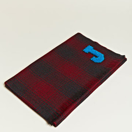 Jil Sander - Letterman Plaid Scarf