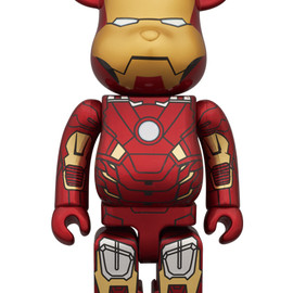 MEDICOM TOY - BE@RBRICK IRON MAN MARK VII 400%