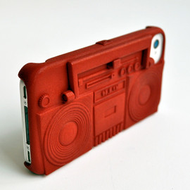 FRESHFIBER - Boombox Case & Stand for iPhone 4