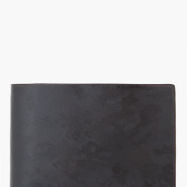GIVENCHY - Black Scratched Wallet