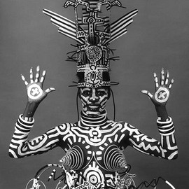 Keith Haring, Grace Jone - Robert Mapplethorpe - Robert Mapplethorpe - Grace Jones 1984